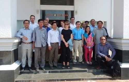 Participants after the inception workshop in Kratie