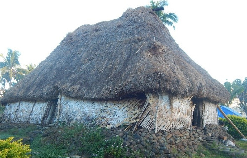 Most of the traditional bure in Navala withstood Cyclone Winston with minor damages
