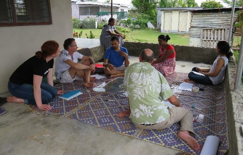 Participatory Hazard Mapping with Fijian women of Indian origin in Etatoko